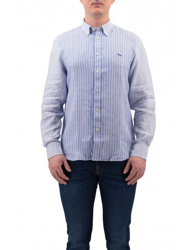CAMICIA HARMONT & BLAINE PATCHWORK IN...