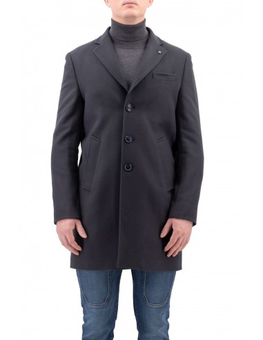 CAPPOTTO BARBATI BLU MONOPETTO IN...