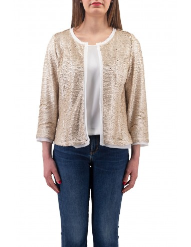 GIACCA LUCKYLU ORO FULL PAILLETTES