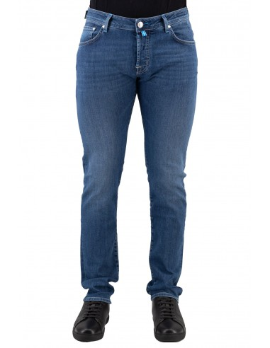 JEANS JACOB COHEN BLU IN COTONE...