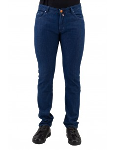 JEANS JACOB COHEN BLU SCURO...