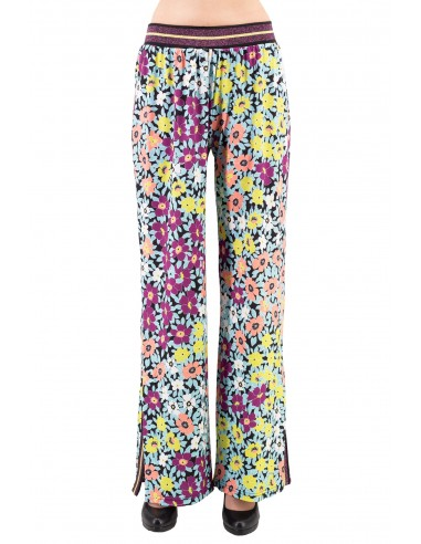 PANTALONE LUCKYLU IN JERSEY STAMPATO...