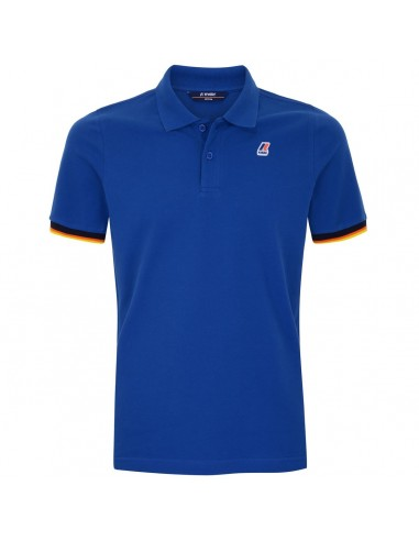 POLO K-WAY VINCENT BLU ROYAL IN...