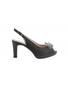 SANDALO DONNA SOFT NERO IN...